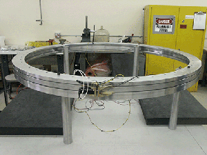 Separation Joints Test Setup